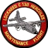 Lockheed C 130 Hercules Maintenance Flight